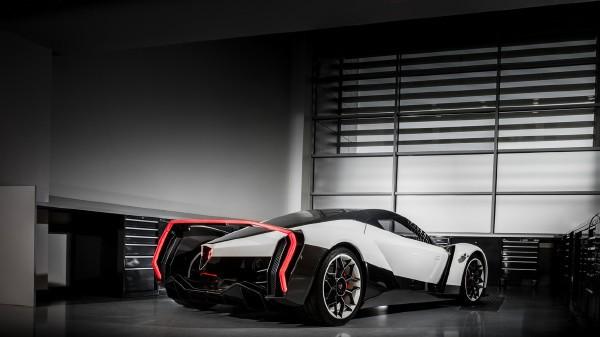Siêu xe chạy điện của Singapore xuất hiện tại triển lãm Geneva ảnh 1