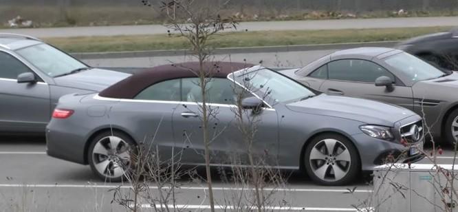Mercedes-Benz E-Class Cabriolet bản sản xuất lộ diện trên phố ảnh 4
