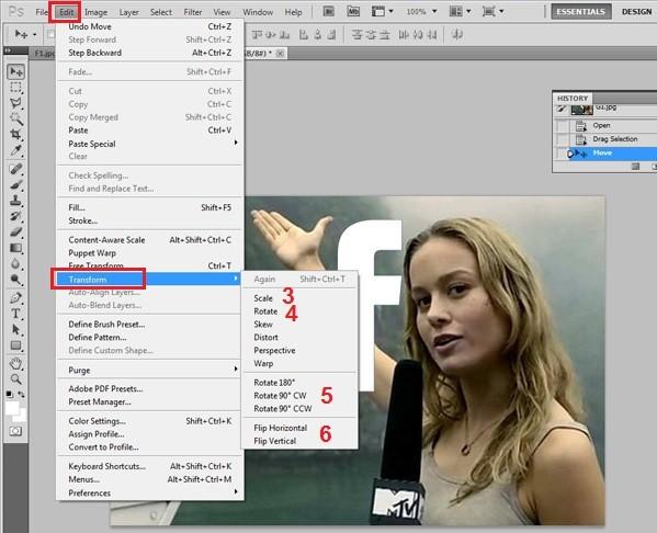 Hướng dẫn cắt ghép ảnh trong Photoshop đơn giản ảnh 4