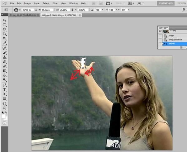 Hướng dẫn cắt ghép ảnh trong Photoshop đơn giản ảnh 5