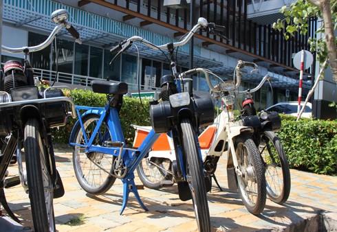 Hàng trăm xe máy cổ hội tụ tại Sài Gòn ảnh 10