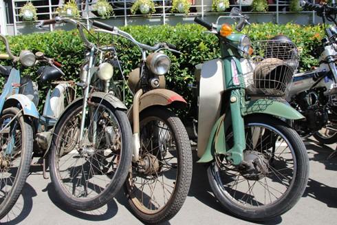 Hàng trăm xe máy cổ hội tụ tại Sài Gòn ảnh 11