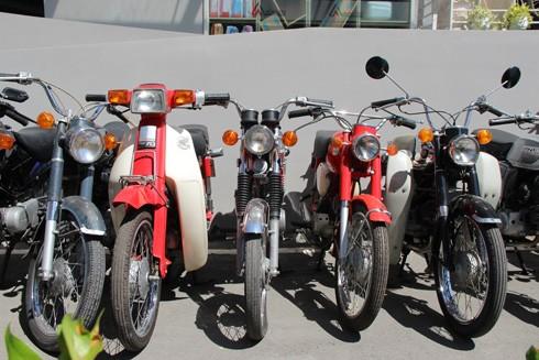 Hàng trăm xe máy cổ hội tụ tại Sài Gòn ảnh 12