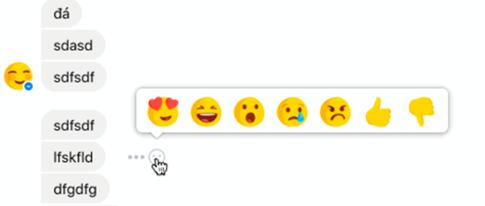 Facebook thử nghiệm nút 'không thích' trên Messenger - ảnh 1