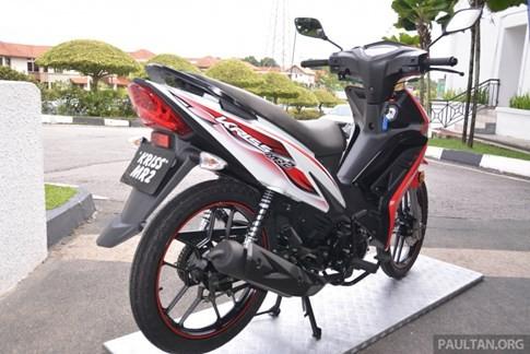 Hãng xe Malaysia ra mắt xe số giá rẻ cạnh tranh Honda Wave Alpha ảnh 2