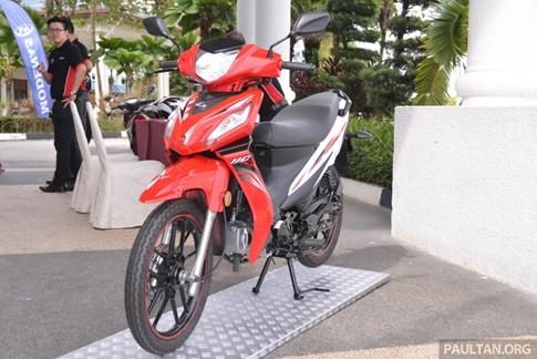 Hãng xe Malaysia ra mắt xe số giá rẻ cạnh tranh Honda Wave Alpha ảnh 1