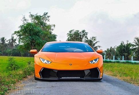 Siêu bò Lamborghini Huracan độ Vorsteiner chất nhất Việt Nam ảnh 1