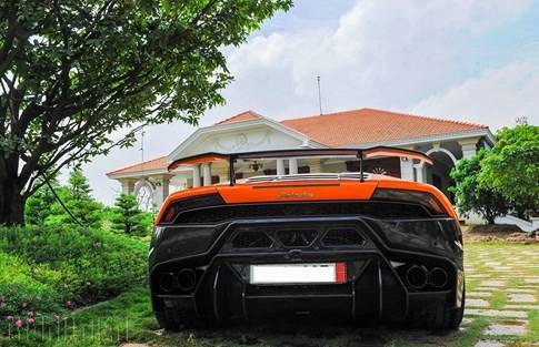 Siêu bò Lamborghini Huracan độ Vorsteiner chất nhất Việt Nam ảnh 5
