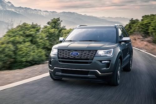 Ford giới thiệu Explorer 2018 ảnh 1