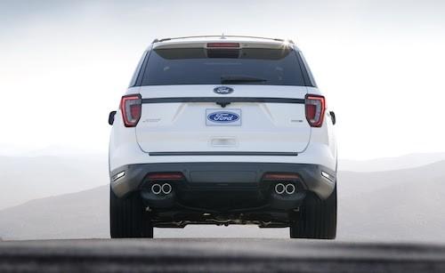 Ford giới thiệu Explorer 2018 ảnh 3