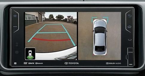 Toyota trang bị camera 360 độ, cho bản nâng cấp của Vios ảnh 2