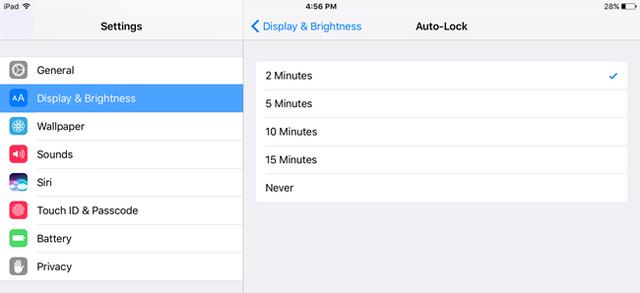 6 tuyệt chiêu giúp bạn kéo dài thời gian sử dụng iPad ảnh 5