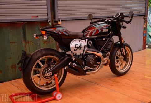 Ducati Scambler tại Việt Nam tăng 'chất chơi' với bản Cafe Racer ảnh 2