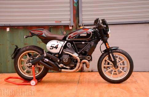 Ducati Scambler tại Việt Nam tăng 'chất chơi' với bản Cafe Racer ảnh 1