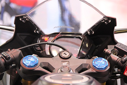 Sportbike Honda CBR250RR 2017 đầu tiên về Việt Nam ảnh 3
