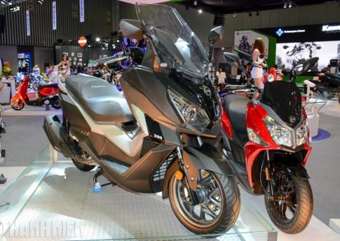 5 xe tay ga nổi bật nhất Triển lãm mô tô xe máy VN 2017 ảnh 5
