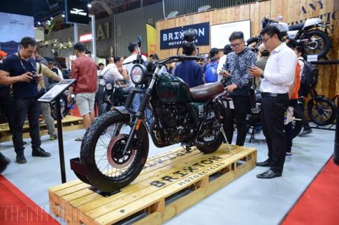 Sản xuất tại Trung Quốc, mô tô Brixton gán mác 'xe Tây' vào Việt Nam ảnh 1