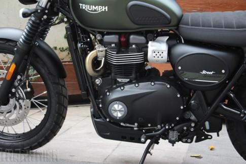'Xế nổ' Triumph Street Scrambler 2017 đầu tiên về Việt Nam ảnh 8