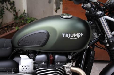 'Xế nổ' Triumph Street Scrambler 2017 đầu tiên về Việt Nam ảnh 3