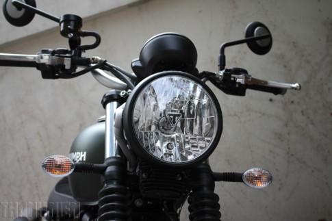 'Xế nổ' Triumph Street Scrambler 2017 đầu tiên về Việt Nam ảnh 2