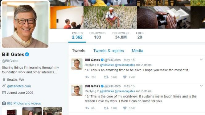 Lời khuyên của Bill Gates cho sinh viên muốn thay đổi thế giới ảnh 1