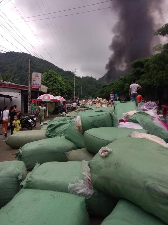 cháy chợ,hỏa hoạn,cháy chợ Tân Thanh,chợ Tân Thanh,Lạng Sơn,cháy ở Lạng Sơn,cửa khẩu Tân Thanh