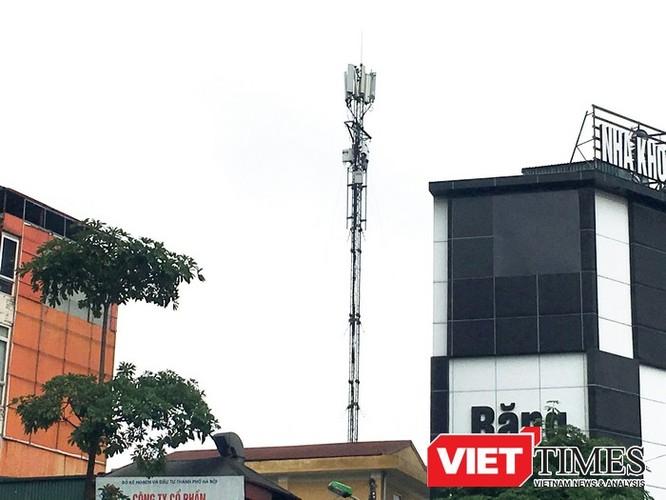 Hiện tại trên địa bàn TP. Hà Nội vẫn còn nhiều Trạm thu phát sóng di động