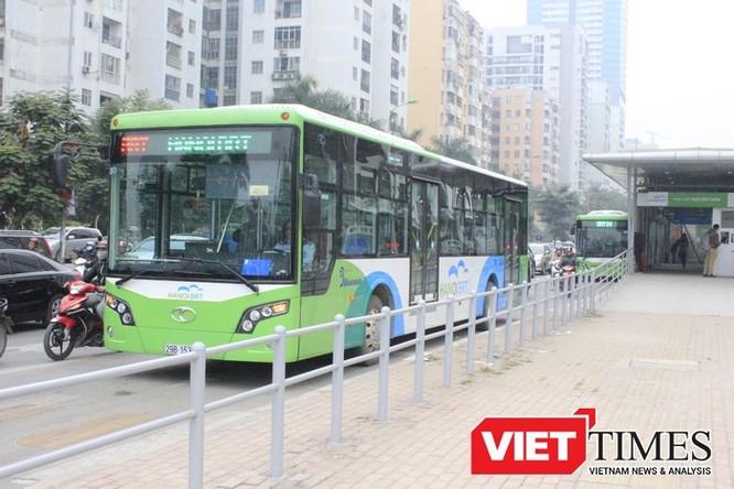 Hà Nội chưa từng lên kế hoạch cụ thể triển khai tuyến buýt nhanh Kim Mã - Hòa Lạc ảnh 1