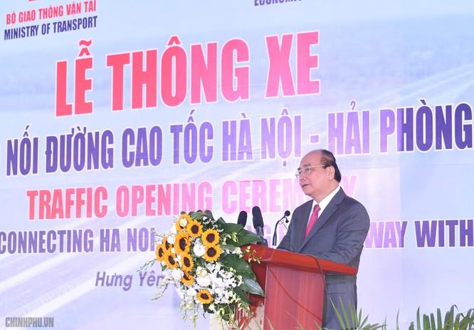 Thông xe tuyến đường nối cao tốc Hà Nội - Hải Phòng với Cầu Giẽ - Ninh Bình ảnh 1