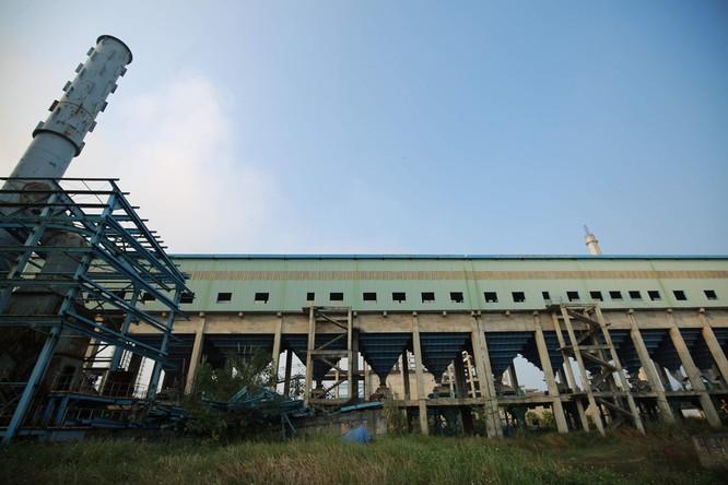 Nhà máy gang thép Thái Nguyên.