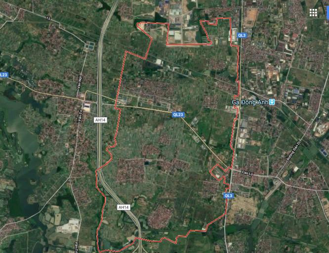 Phê duyệt quy hoạch 1/500 dự án Green Link city 39,5ha ở Đông Anh ảnh 1