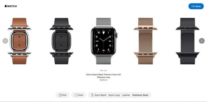 Watch Studio dành cho đồng hồ thông minh Apple thế hệ 5 là tính năng gì? ảnh 1