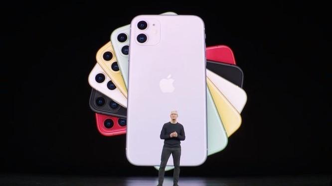 iPhone 11 có 2 màu vỏ mới ảnh 1