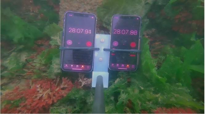 Điều gì sẽ xảy ra nếu iPhone 11 được ngâm dưới độ sâu 11 mét? ảnh 2