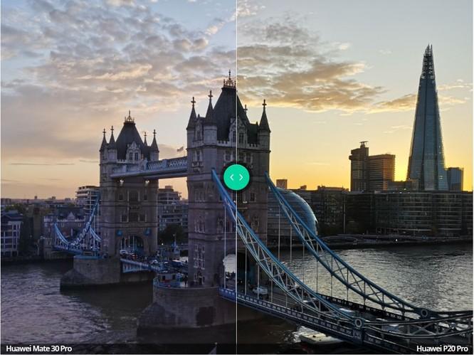 So sánh camera trên 2 chiếc máy Huawei P20 Pro và Huawei Mate 30 Pro ảnh 4