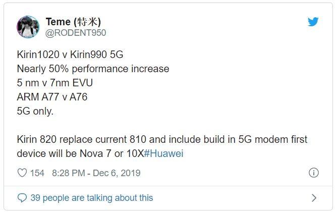 Rỏ rỉ thông tin về 2 mẫu chip thế hệ mới của Huawei ảnh 2
