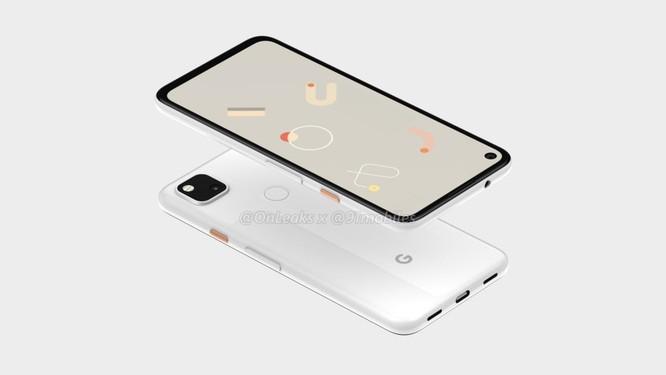 Lộ hình ảnh render của chiếc Google Pixel 4a ảnh 3