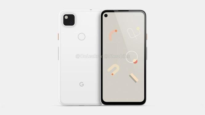 Lộ hình ảnh render của chiếc Google Pixel 4a ảnh 2