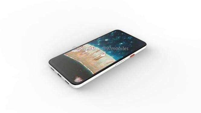 Lộ hình ảnh render của chiếc Google Pixel 4a ảnh 4