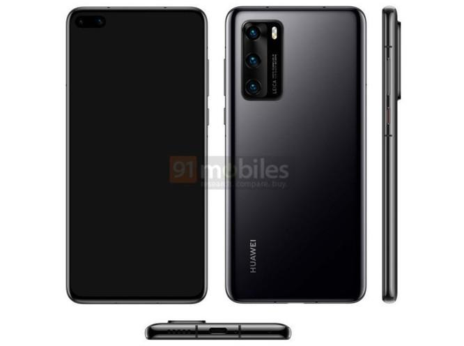 Rò rỉ hình ảnh chi tiết của chiếc Huawei P40 ảnh 1