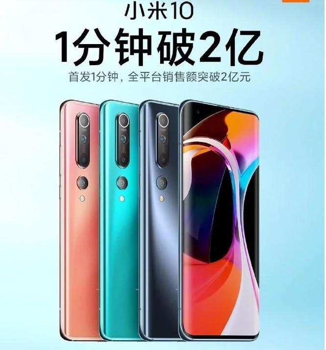 Xiaomi Mi 10 cháy hàng trong ngày đầu mở bán ảnh 1