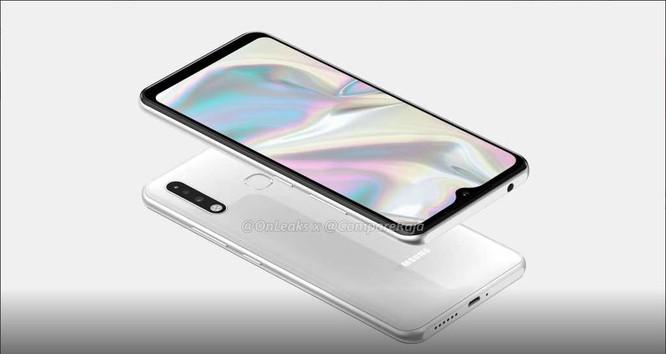 Hình ảnh rỏ rỉ được cho là của chiếc Samsung Galaxy A70e ảnh 3