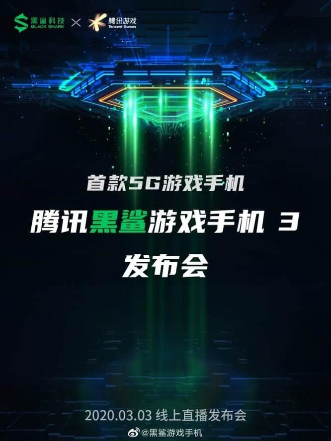 """Mẫu smartphone gaming """"cực khủng"""" của Xiaomi sẽ được cho ra mắt đầu tháng tới ảnh 1"""