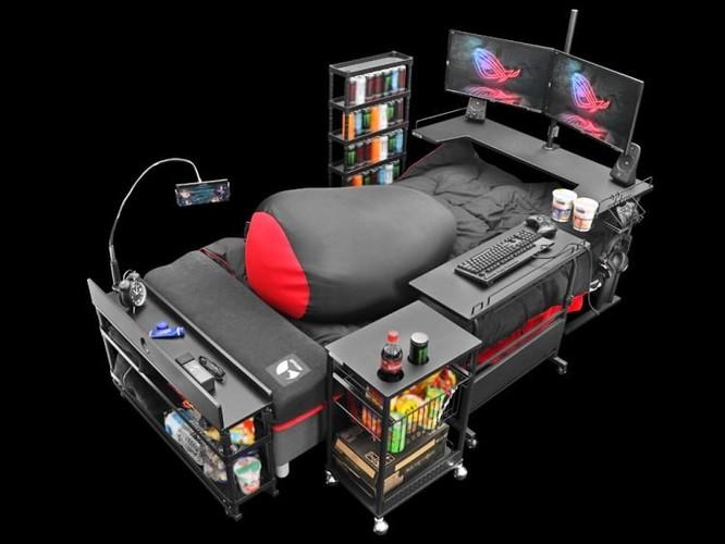 Chiếc giường mơ ước của các game thủ ảnh 3