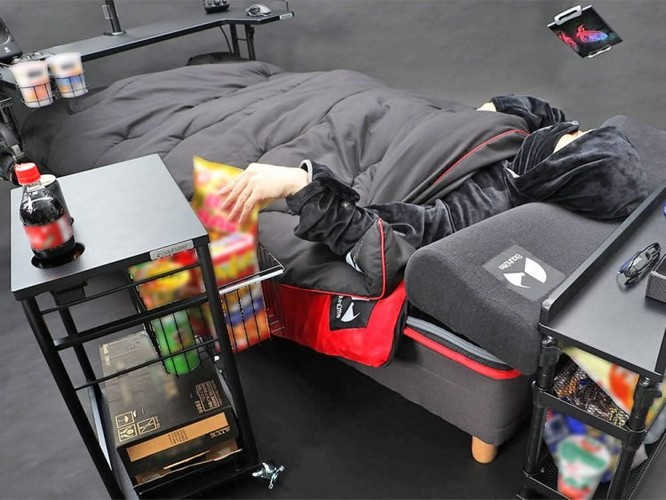 Chiếc giường mơ ước của các game thủ ảnh 1