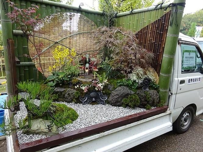 """Mang """"vườn"""" đi muôn nơi, cuộc thi bá đạo dành cho các nghệ nhân làm vườn tại Nhật Bản ảnh 4"""