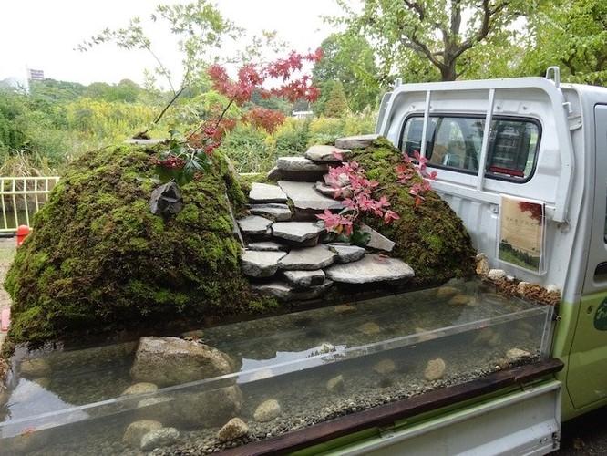 """Mang """"vườn"""" đi muôn nơi, cuộc thi bá đạo dành cho các nghệ nhân làm vườn tại Nhật Bản ảnh 3"""