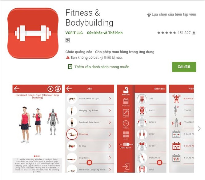 5 ứng dụng fitness dành cho dân văn phòng ảnh 1