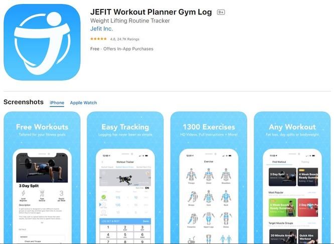 5 ứng dụng fitness dành cho dân văn phòng ảnh 2