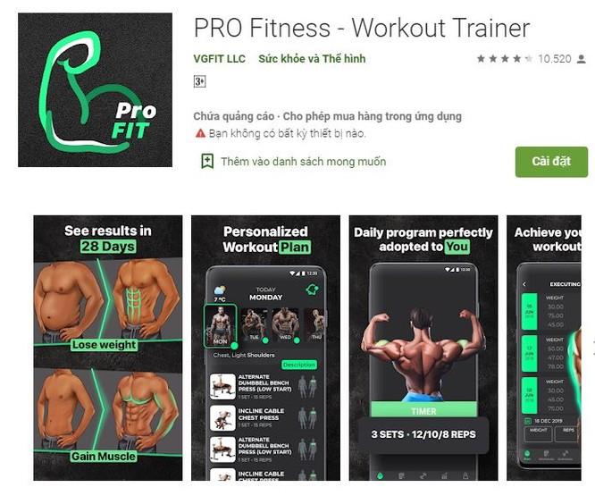 5 ứng dụng fitness dành cho dân văn phòng ảnh 5